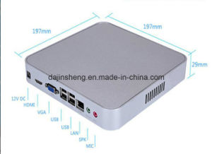 Top Quality Mini PC & Tiny Portable H81u Support Windows 7/8/10 pictures & photos