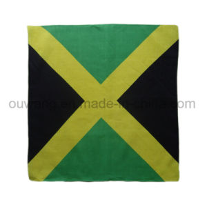 Custom National Flag Promotional Square Bandana 100% Cotton pictures & photos