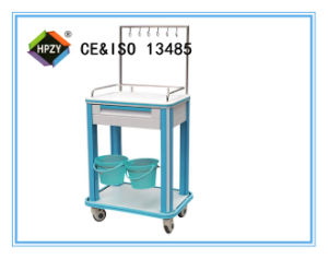 (B-86) Luxury ABS Medicine Trolley with Green Color