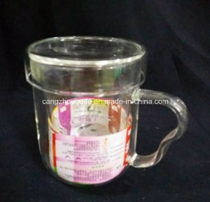 Manufacturer Hot Selling Glass Tea Cup with Infuser pictures & photos