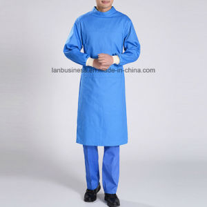 Cotton Anti-Bacterial Resistance to High Temperature Surgical Suit in Blue pictures & photos