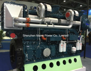 1400HP 1000rpm Yuchai Marine Diesel Engine Inboard Marine Motor pictures & photos