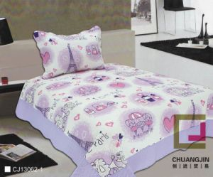 Printed 100% Printed or Polyester Quilt Set (BEDDINNG SET)