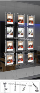 Cable Suspended Slim Crystal Light Box LED Light Box pictures & photos