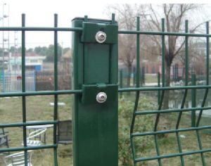 High Quality V Beam Welded Wire Mesh Fence for Security pictures & photos