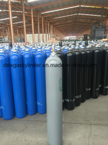 DOT-3AA High Pressure Seamless Steel 10.7L Compressed Nitrogen Cylinders Manufacturer pictures & photos