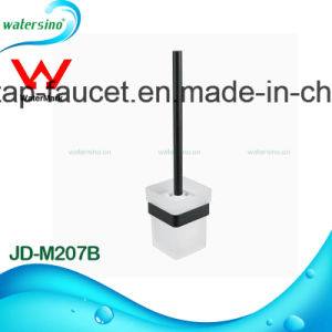 Modern Matte Black Designer Bathroom Fittings 5 Years Guarantee Toilet Brush pictures & photos