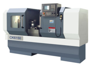 CNC Lathe with Flat Bed and Hardened Rail Ek6150X2000