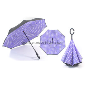 New Design Innovation Upside Down/ Inverted Sun Umbrella pictures & photos