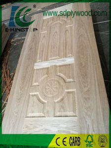 HDF Door Skin Laminated with Ash Veneer pictures & photos