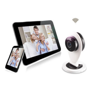 720p Folding Baby Monitor Home Survillance Smart Camera Robot Type IR Night Vision HD 720p Cloud Storage PTZ P2p WiFi IP Home Security Camera pictures & photos