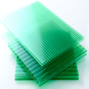 10mm Polycarbonate Hollow Sheet for Housing Glasses pictures & photos
