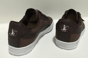 Leather and Fabric Casual Shoes (CAS-045) pictures & photos