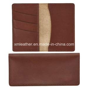 Embossed Luxury Cow Leather Card Holder for Travelling pictures & photos