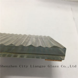 Laminated Glass/Safety Tempered Glass with Colorful Silk Mirror for Building pictures & photos