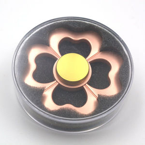 Fashion Rose Gold Clover Hand Fidget Spinner pictures & photos