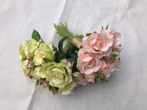 Real Touch Rose Artificial Flowers Silk for Wedding Home Design Bouquet Decoration Valentine Day pictures & photos