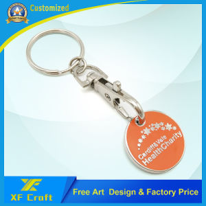 2017 Custom Design Popular Stamped Trolley Coin (XF-TK01) pictures & photos