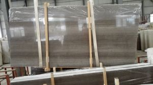 Grey Wooden Marble Slab, White Wooden Marble Slab pictures & photos