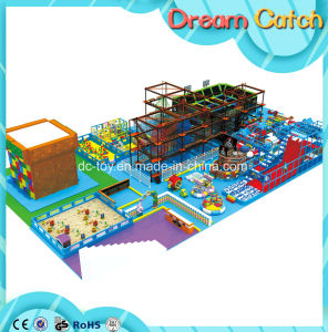 Kids Outdoor Ropes Climbing Frameset for Mall pictures & photos