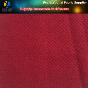Polyester Double-Layer Fabric, Check Printed Poyester High Elastance Fabric for Garment pictures & photos