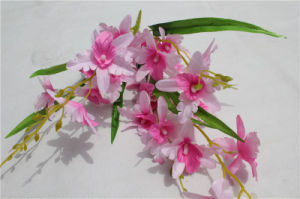 Cheap Wholesale High Quality Orchid Artificial Flowers for Wedding Decoration pictures & photos