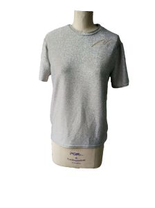 2017 Shiny Ladies Round Neck T-Shirt Clothes pictures & photos