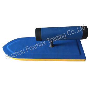 Double Colour Plastering Trowel with Wooden Handle/ABS Handle pictures & photos