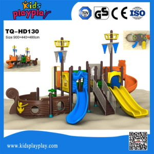 Kids Games Outdoor Playground with Plastic Slide Series pictures & photos