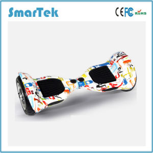 Smartek OEM Electric Gyroscooter Two Wheel Scooter Patinete Electrico E-Scooter Self Balance Hiphop Graffiti Scooter with Bluetooth S-002-Cn pictures & photos