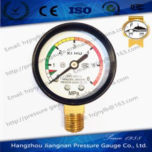 50mm 2′′ High Quality General Pressure Gauge-Air Pressure Gauge pictures & photos