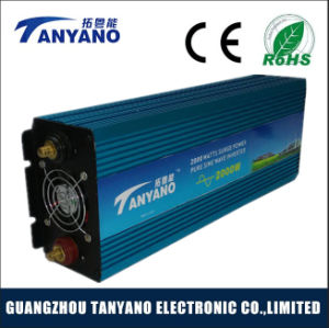 Low Idle Consumption 2000W Pure Sine Wave Inverter DC to AC pictures & photos