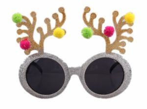 2017 Wholesale Custom Arrow Sunglasses Funny Antlers Shade Shaped Party Glasses