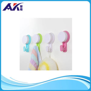 Hot Sale White & Colorful Plastic Wall Hook