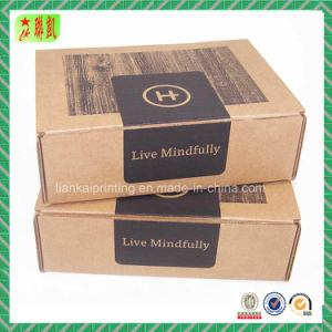 Classicism Corrugated Paper Packing Box pictures & photos