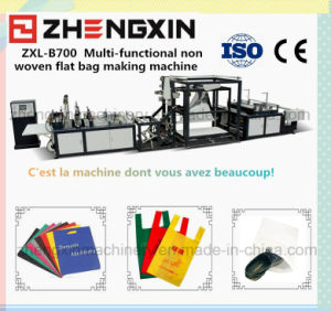 Non Woven Fabric Reusable Bag Making Machine (Zxl-B700) pictures & photos