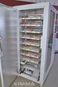 Eggs Conveyor Vending Machine Delivery by Elevator Operated by Mdb pictures & photos
