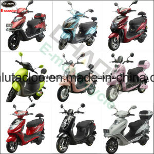 China Cheap Electric Motorcycle with 48V 350W Rear Motor, E-Scooter pictures & photos
