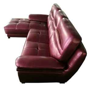 Modern L Shape Sofa, Modern Leather Sofa (A27) pictures & photos
