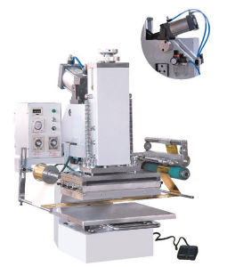 Tam-358p-A4 High Quality Pneumatic Tabletop Hot Stamping Machine pictures & photos