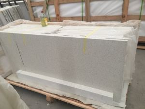Hot Sale Sparking White Quartz Stone for Vanity Top pictures & photos