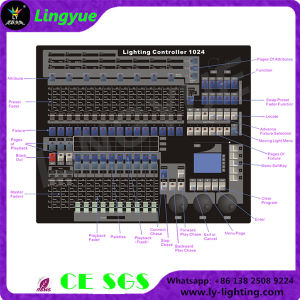 King Kong 1024 Stage Lighting Console Controller (LY-1024C) pictures & photos