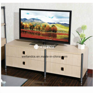 Patent Design DIY TV Stand Steel-Wooden Furniture pictures & photos