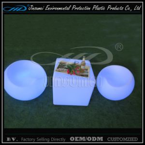 Plastic Modern LED Garden Furniture with Factory Price pictures & photos