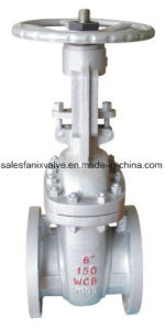 JIS Standard Stainless Steel Flange Gate Valve pictures & photos