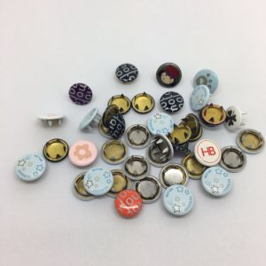Garment Accessories Pring Cap Prong Snap Fasteners Button pictures & photos