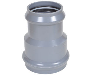 PVC Pipe Fitting Faucet Reducing Joint-Rubber Ring Coupling pictures & photos
