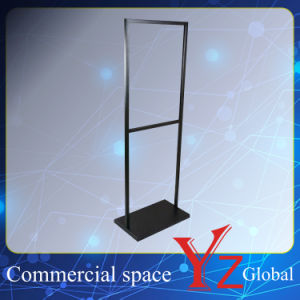 Sign Board (YZ161502) Poster Stand Display Stand Exhibition Stand Promotion Poster Frame Banner Stand Poster Board Store Stand Stainless Steel pictures & photos