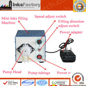 Mini Ink Filling Machine for Seiko Ink Bags pictures & photos