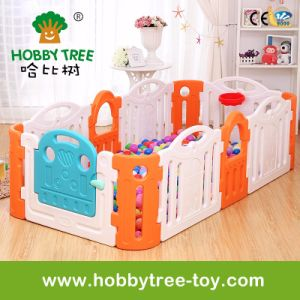 2017 Colorful Kids Plastic Game Fence for Family (HBS17042A)